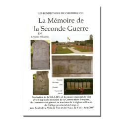 RDVH 31 : Mémoire de la...