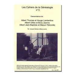 CG n°03 : Famille Albert